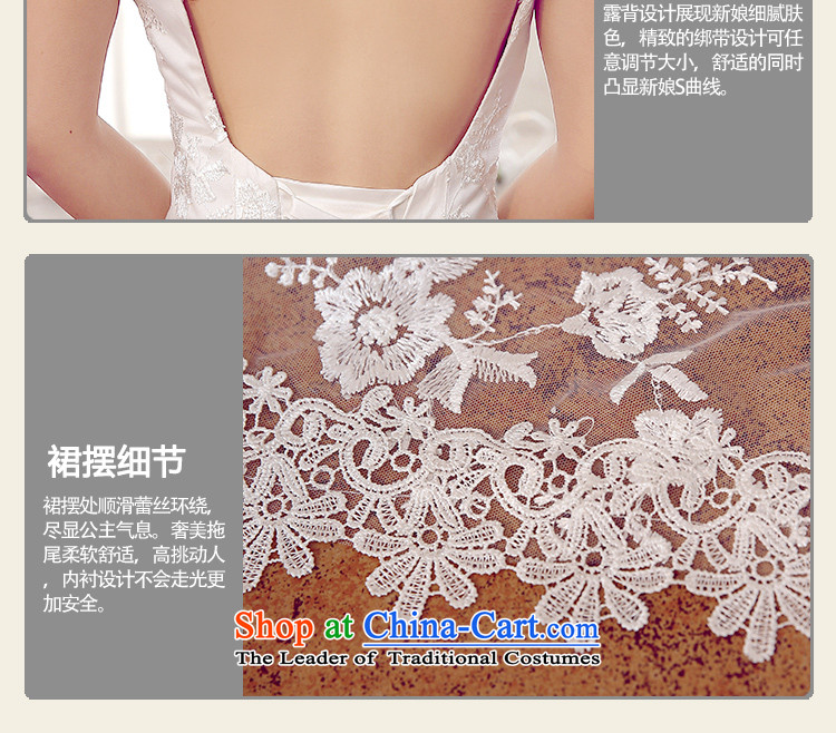 Ferrara Korean style wedding dress tail wedding dress wedding winter bride crowsfoot wedding female 2015 wedding new strap wedding XL(2 trailing foot 2) Picture, prices, brand platters! The elections are supplied in the national character of distribution, so action, buy now enjoy more preferential! As soon as possible.