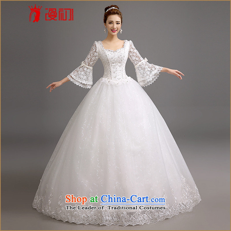 In the early 2015 new man marriages wedding winter won the Word version thin shoulders wedding winter marriages horn cuff wedding white聽L code