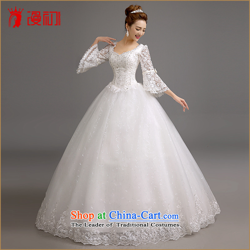 In the early 2015 new man marriages wedding winter won the Word version thin shoulders wedding winter marriages horn cuff wedding white L code, spilling the early shopping on the Internet has been pressed.