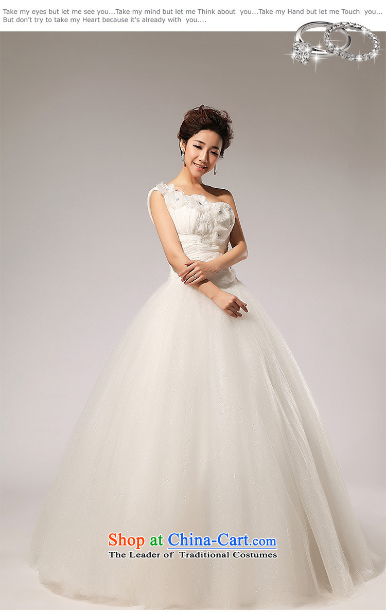 The end of the light (QM) Single shoulder straps wedding Flower Handmade bride wedding dressesCTX HS110m WhiteM picture, prices, brand platters! The elections are supplied in the national character of distribution, so action, buy now enjoy more preferential! As soon as possible.