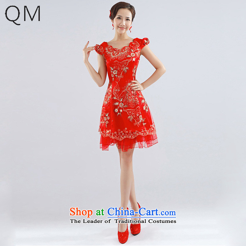 The end of the light (QM) Bride wedding dresses marriages wedding dresses qipao CTX QP-15 RED�S