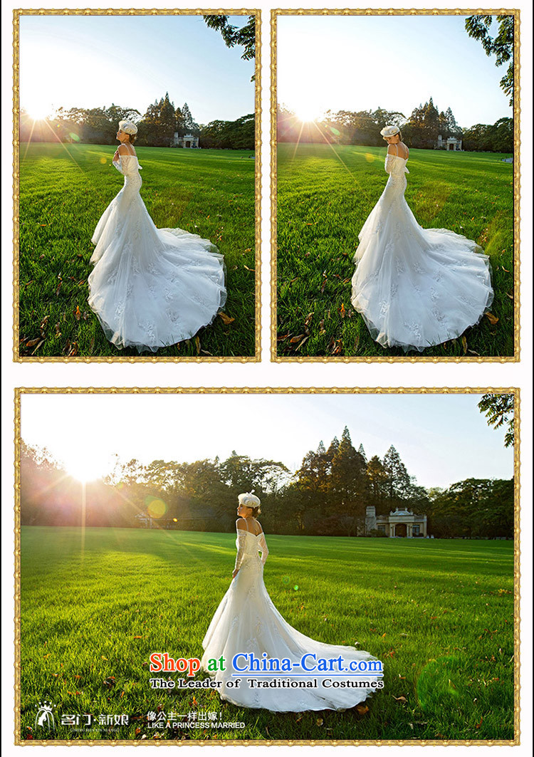 A Bride wedding dresses new 2015 winter lace crowsfoot wedding long tail luxury聽2516 S picture, prices, brand platters! The elections are supplied in the national character of distribution, so action, buy now enjoy more preferential! As soon as possible.