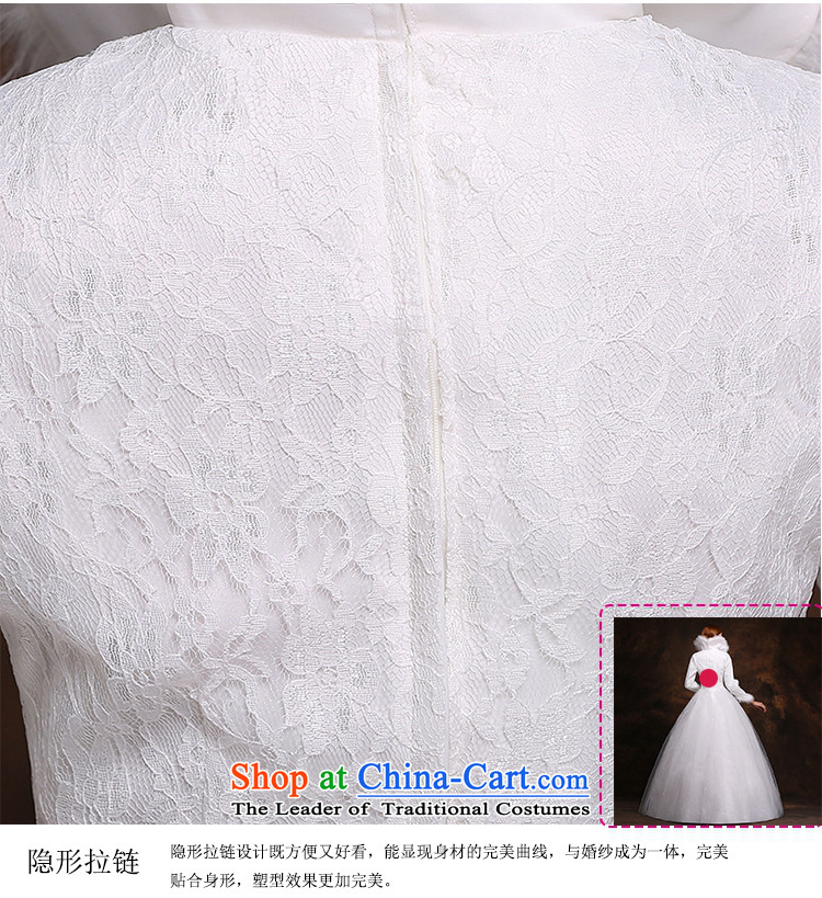 Hei Kaki 2014 new winter wedding to align the long-sleeved winter) Marriages video thin princess wedding dresses D007 White XXL picture, prices, brand platters! The elections are supplied in the national character of distribution, so action, buy now enjoy more preferential! As soon as possible.