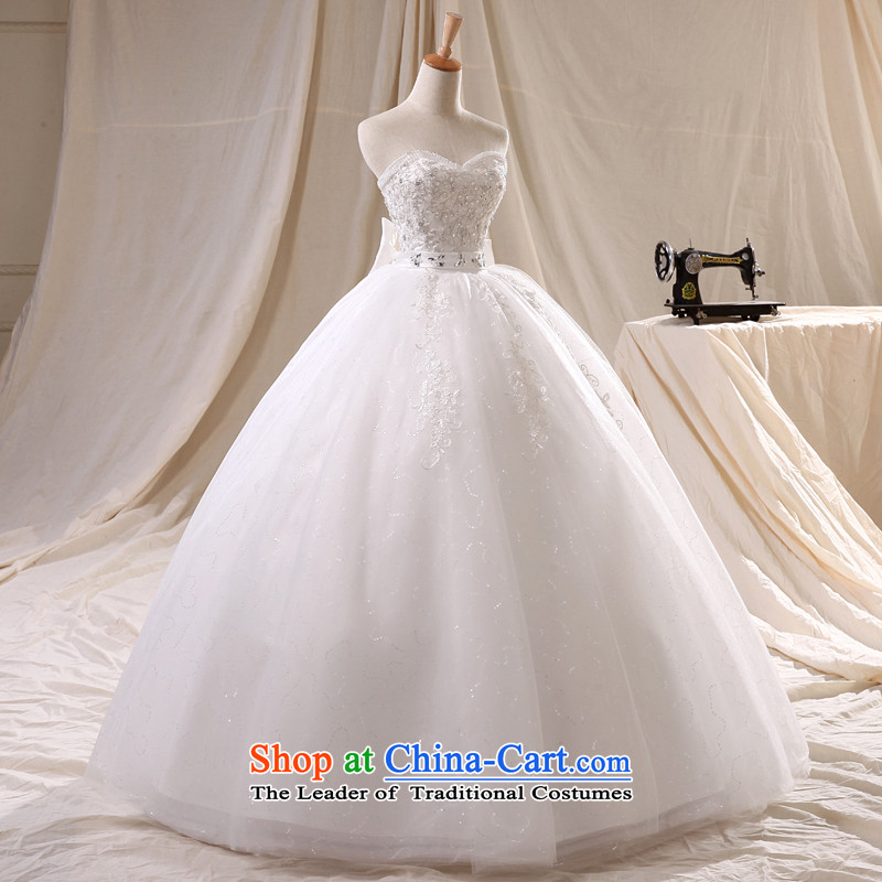 Noritsune bride2014 new wedding dresses winter anointed chest wedding Top Loin lace video thin stylish wedding pregnant women wedding tail wedding tailored WhiteM noritsune bride shopping on the Internet has been pressed.