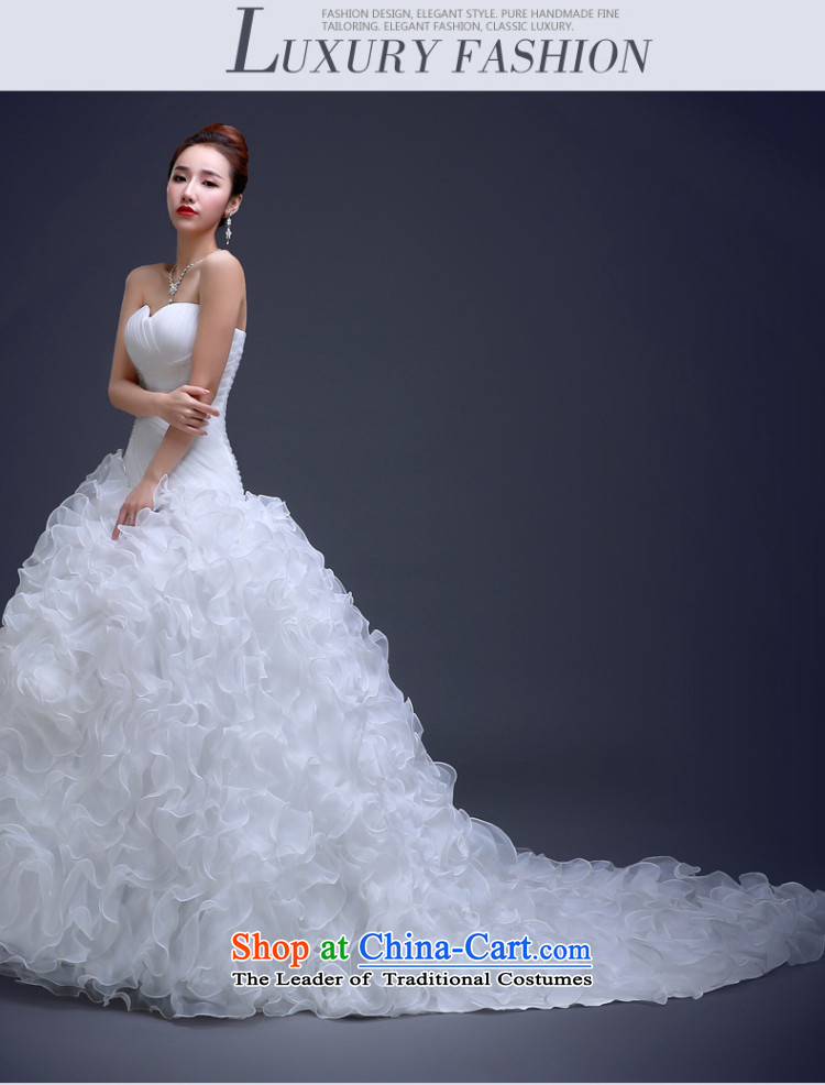 Beverly Ting wedding dresses new 2015 Long Tail and stylish chest-video thin princess bon bon skirt bride wedding Winter load white L picture, prices, brand platters! The elections are supplied in the national character of distribution, so action, buy now enjoy more preferential! As soon as possible.