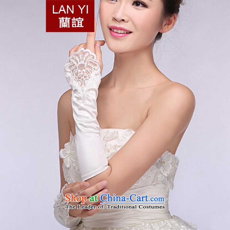 The Friends of the bride wedding dresses accessories lace no longer refers to the Korean version of the gloves and stylish white gloves bride