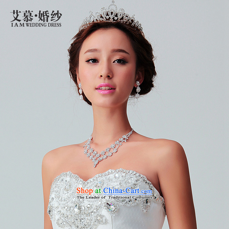 The 2015 wedding HIV crown headdress minimalist bride crown jewel of diamond ornaments necklace hair accessories wedding jewelry and ornaments crown