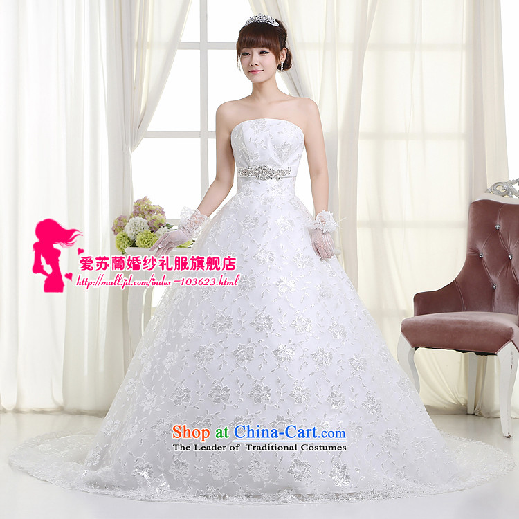 The new long tail wedding wedding marriages long tail wedding upscale tail wedding聽H99, white聽XXXL picture, prices, brand platters! The elections are supplied in the national character of distribution, so action, buy now enjoy more preferential! As soon as possible.