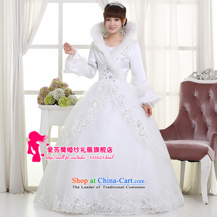 Winter clothing bride wedding wedding dresses marriage wedding new wedding Warm White XXL wedding pictures, prices, brand platters! The elections are supplied in the national character of distribution, so action, buy now enjoy more preferential! As soon as possible.