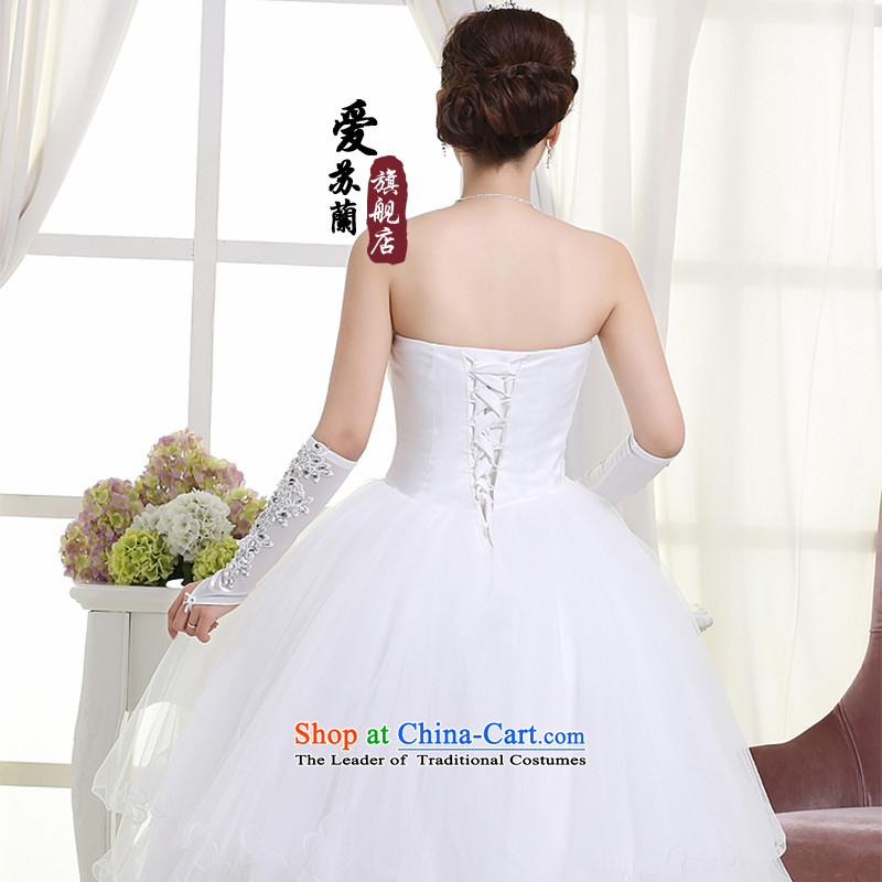 The new bride wedding wedding dresses marriage wedding dresses princess wedding dresses white XXL, love Su-lan , , , shopping on the Internet