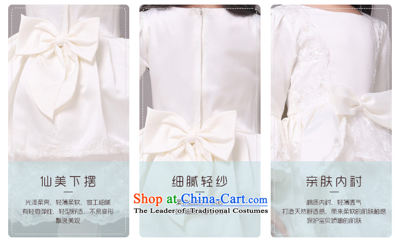 Long-sleeved palace horn cuff mslover bon bon princess dress children dance performances to birthday dress Flower Girls serving HTZ1230901 rice white 8 pictures, prices, brand platters! The elections are supplied in the national character of distribution, so action, buy now enjoy more preferential! As soon as possible.