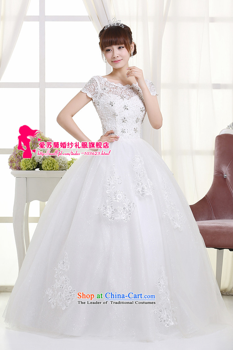 The new 2015 wedding video thin snap to wedding dresses retro lace shoulder straps V-Neck bon bon skirt female Summer Wedding whiteL picture, prices, brand platters! The elections are supplied in the national character of distribution, so action, buy now enjoy more preferential! As soon as possible.