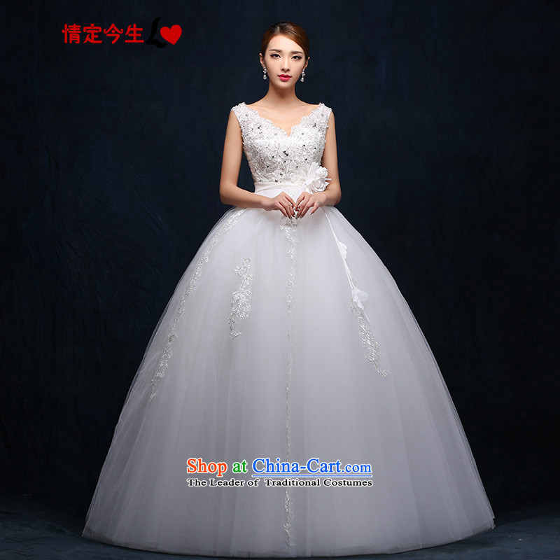 Love of the overcharged wedding Word�2015 new shoulder straps lace Top Loin of pregnant women to align the white-Foutune of OSCE root yarn princess skirt parties make the concept of special white
