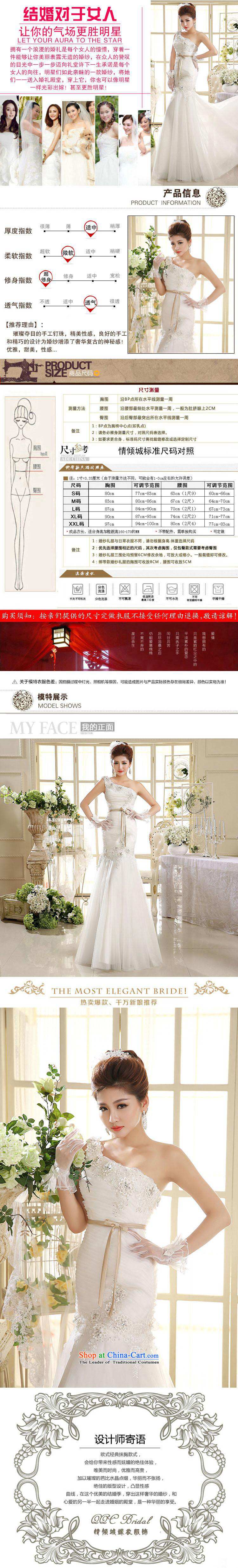 2015 wedding dresses new Korean Princess shoulder straps wedding dresses crowsfoot HS582 wedding White M pictures, prices, brand platters! The elections are supplied in the national character of distribution, so action, buy now enjoy more preferential! As soon as possible.