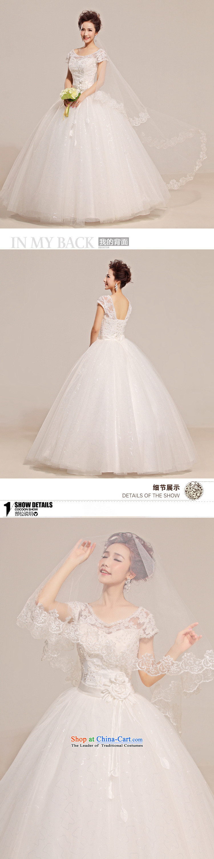 2015 new lace a field tent skirt the floral decorations shoulder wedding dresses HS315 White XL Photo, prices, brand platters! The elections are supplied in the national character of distribution, so action, buy now enjoy more preferential! As soon as possible.