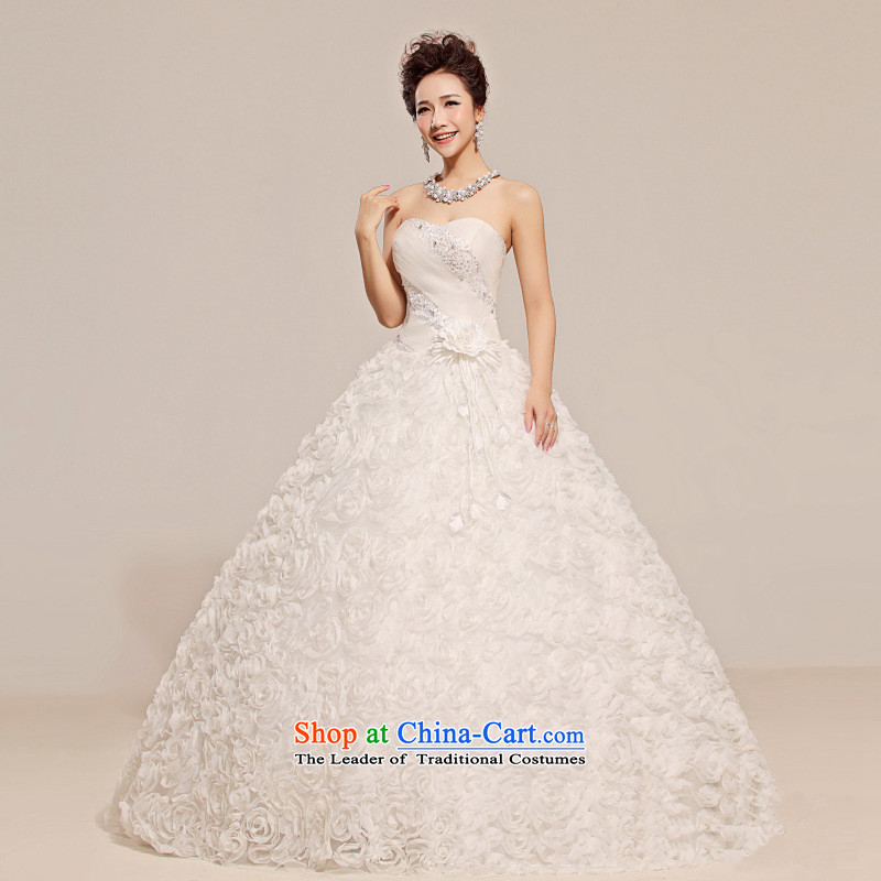 2015 new anointed Chest Flower waist floral decorations Fung skirt wedding WhiteM, Charlene Choi spirit has been pressed shopping on the Internet