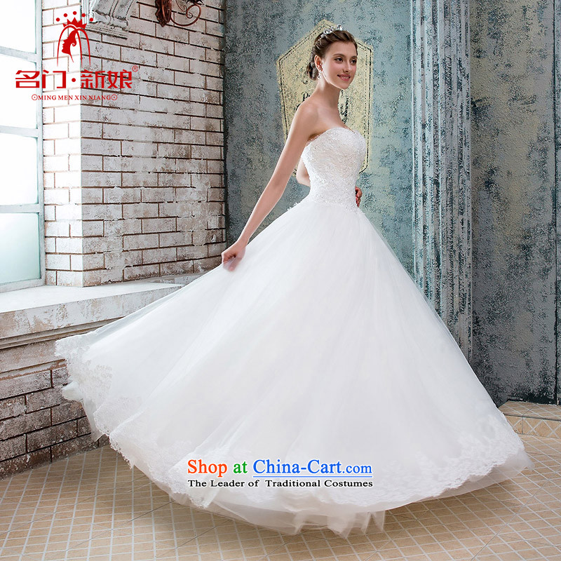 A Bride wedding dresses new 2015 lace wiping the chest to align the wedding canopy Princess Chulabhorn wedding 965 white?S