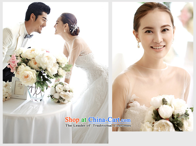 The wedding dresses HIV2015 New Sui Man Wah long-sleeved lace align to bon bon skirt wedding WhiteM pictures, prices, brand platters! The elections are supplied in the national character of distribution, so action, buy now enjoy more preferential! As soon as possible.