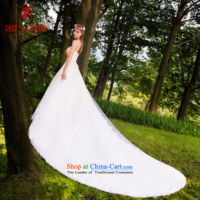 Name the?new 2015 bride door stylish wedding anointed chest wedding diamond wedding tail retro Court 846 to 25 days Shipment