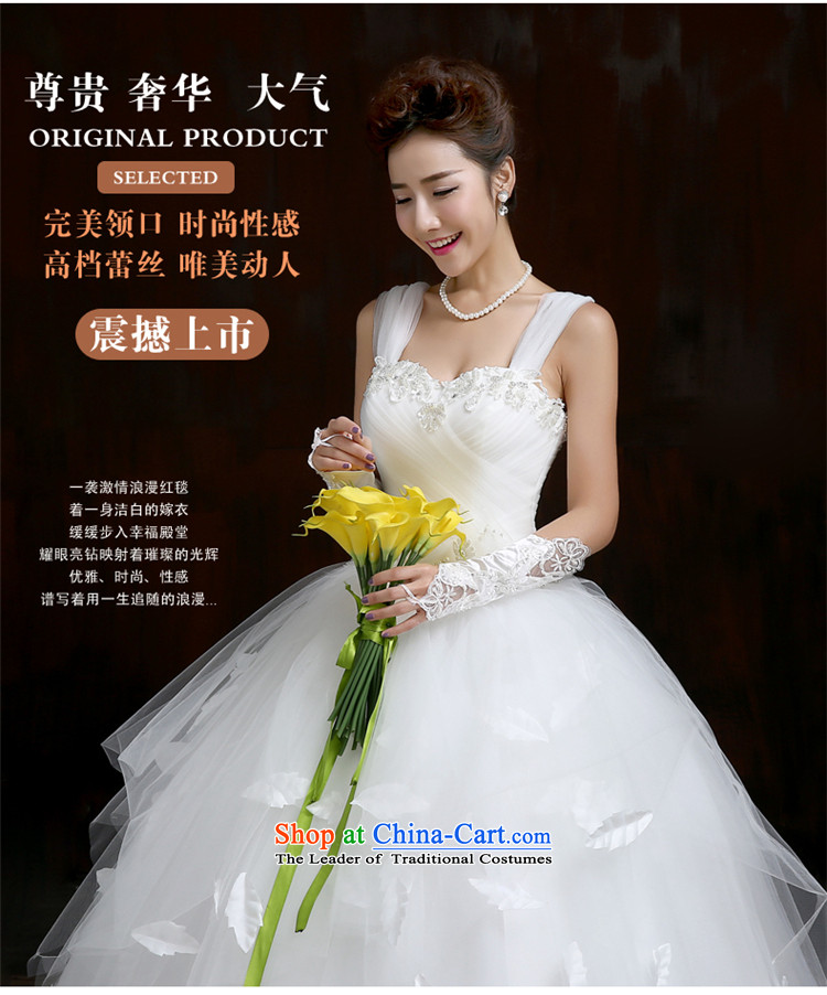Su Xiang Edge聽2015 new one third of the word through video thin married women shoulder wedding dresses to align bon bon skirt white manually wedding white聽L picture, prices, brand platters! The elections are supplied in the national character of distribution, so action, buy now enjoy more preferential! As soon as possible.