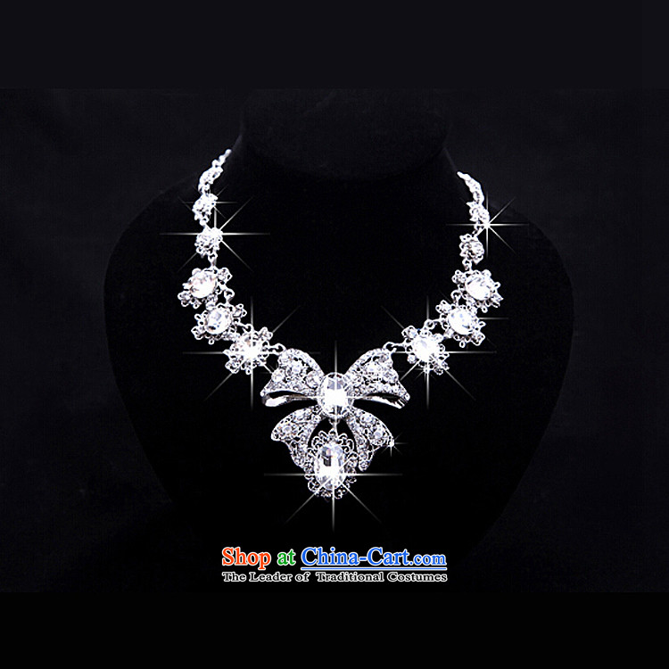 The Syrian brides head-dress moments of international crown necklace earrings three Kit Jewelry marry hair decorations wedding accessories accessories necklaces Earrings