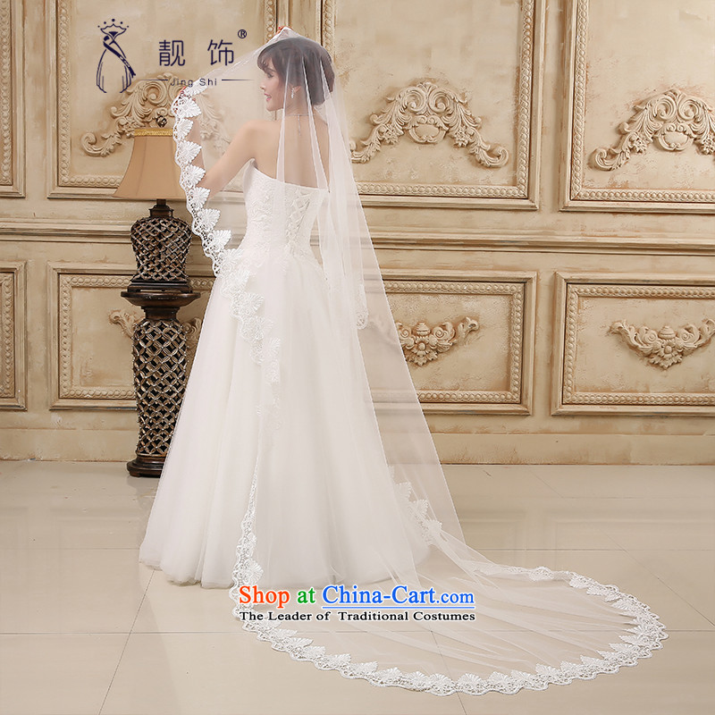 The new 2015 International Friendship marriages water-soluble lace flowers oversized ultra-long and legal long white) 080