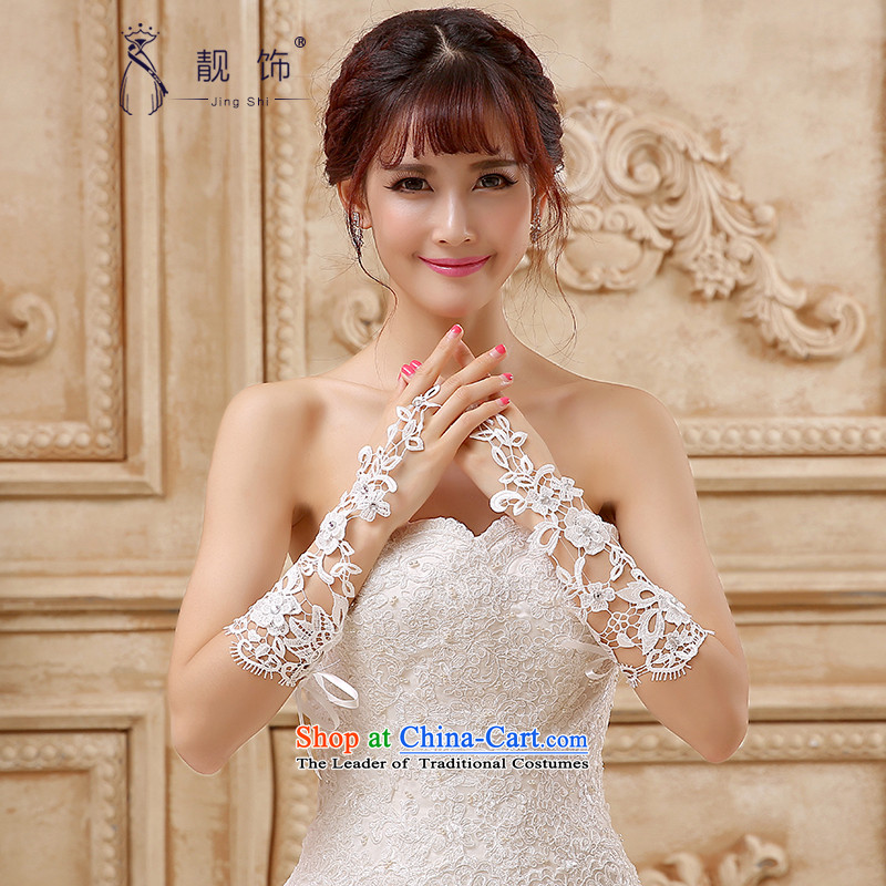 The new 2015 International Friendship Deluxe lace hand-Bride in the long gloves wedding dresses accessories accessories White Kit mittens?100