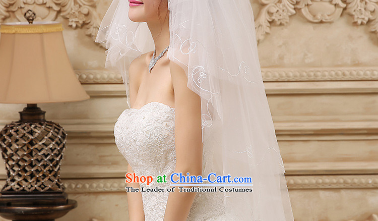 The new 2015 International Friendship white deluxe water drilling lace multi-tier dragging marriages long head yarn wedding accessories accessories long white, 87 pictures, prices, brand platters! The elections are supplied in the national character of distribution, so action, buy now enjoy more preferential! As soon as possible.