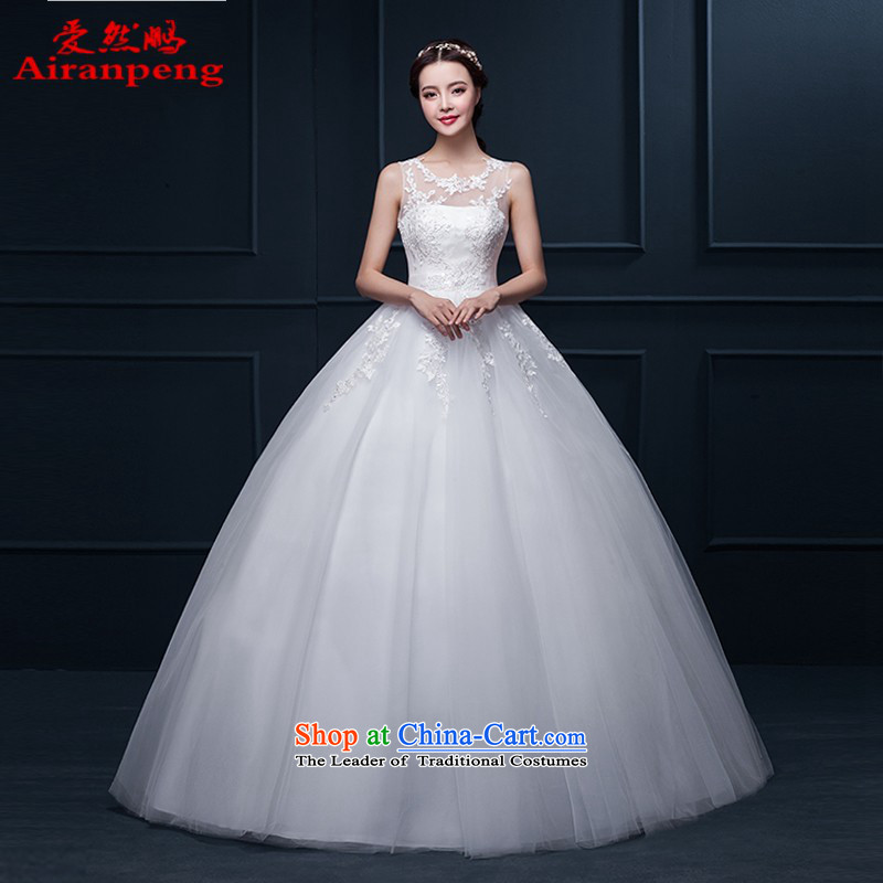 Love So Peng wedding dresses 2015 winter new Korean minimalist shoulders to align, lace wedding video thin brides marriage wedding�need not be made XXL returning