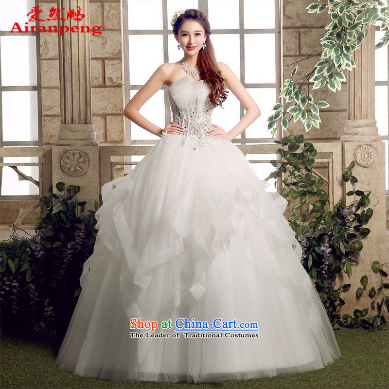 Love So Pang Chun Winter 2015 new marriages wedding dresses and chest to Sau San video thin Korea version is simple and stylish custom�made no need XXL returning