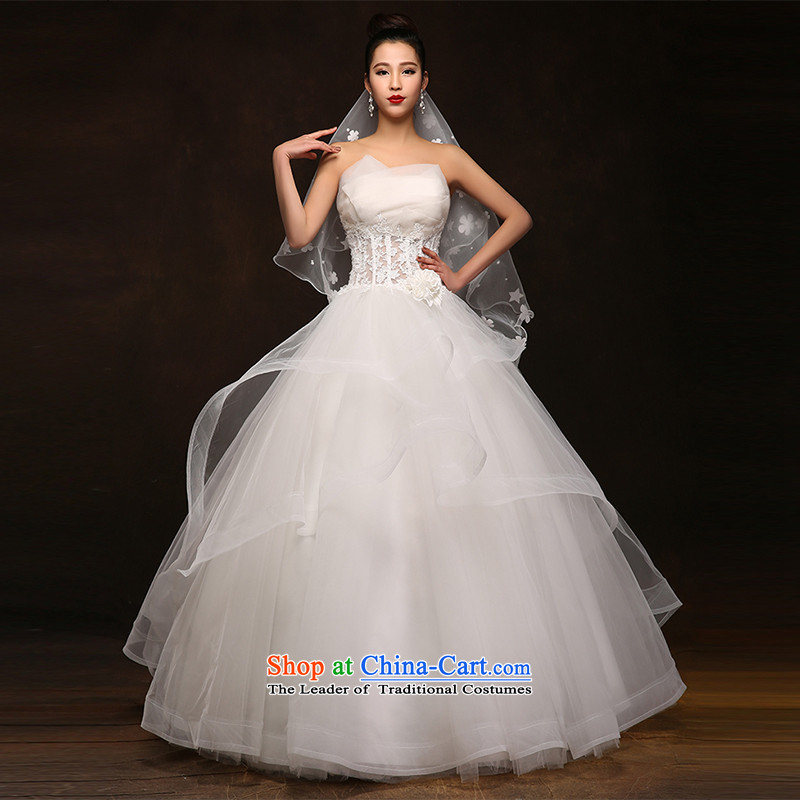 Hei Kaki wedding dresses new 2015 autumn and winter and stylish with scoops graphics to align the Sau San thin bon bon skirt DJ62 long and legal dimensions left tailored