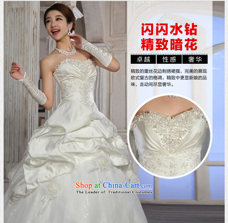 Special offers 10 seconds killed! 2015 New Wedding Korean straps and Princess Bride chest wedding dresses to align the white M picture, prices, brand platters! The elections are supplied in the national character of distribution, so action, buy now enjoy more preferential! As soon as possible.