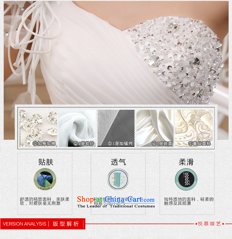 Wedding dress 2015 new large tail Korean shoulder sweet Princess Deluxe long tail white聽L picture, prices, brand platters! The elections are supplied in the national character of distribution, so action, buy now enjoy more preferential! As soon as possible.