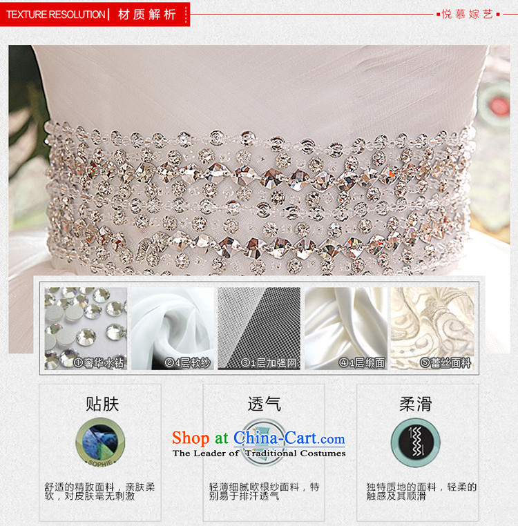 Wedding dresses new 2015 Korean anointed chest Sau San video to align the princess thin flowers bon bon skirt White聽M picture, prices, brand platters! The elections are supplied in the national character of distribution, so action, buy now enjoy more preferential! As soon as possible.