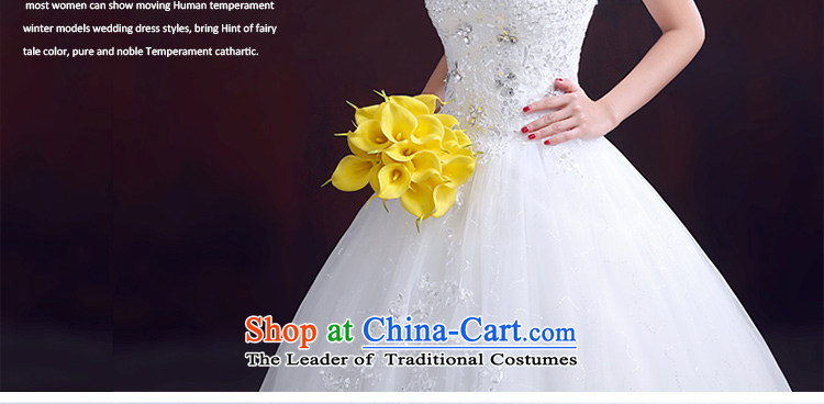 The dumping of the wedding dress new 2015 winter wedding dresses and chest straps to) Wedding Diamond White marriage video thin wedding White M pictures, prices, brand platters! The elections are supplied in the national character of distribution, so action, buy now enjoy more preferential! As soon as possible.