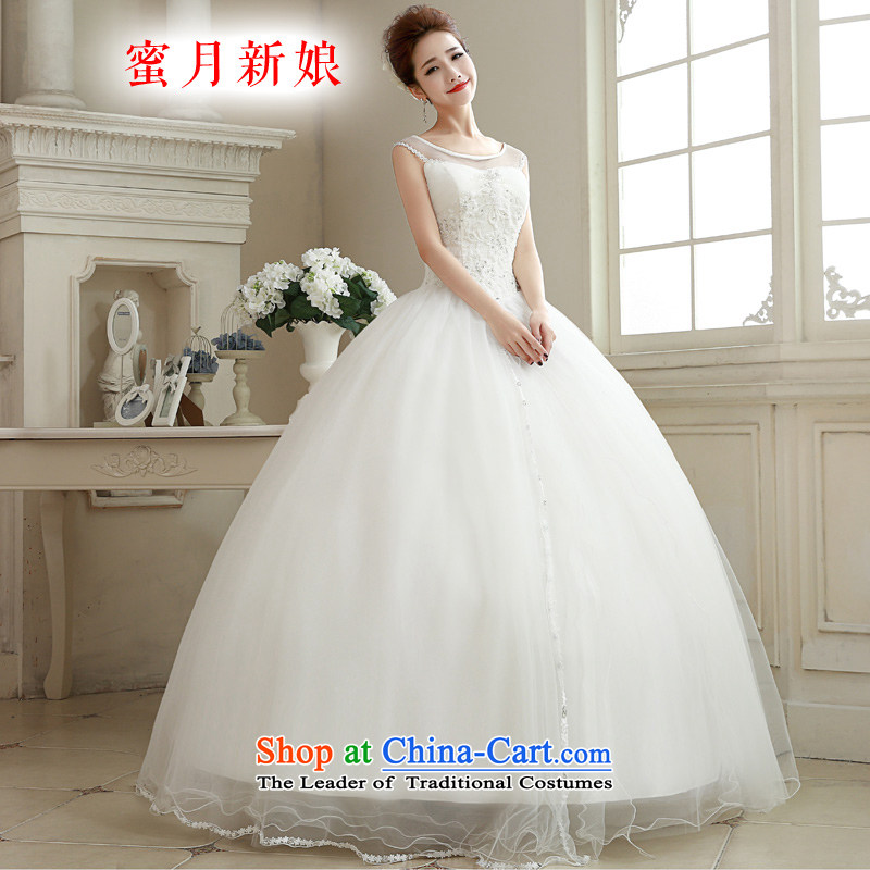 Honeymoon bride聽 2015 new bride short of Qipao summer improved qipao bows services red qipao summer White聽XL Sau San