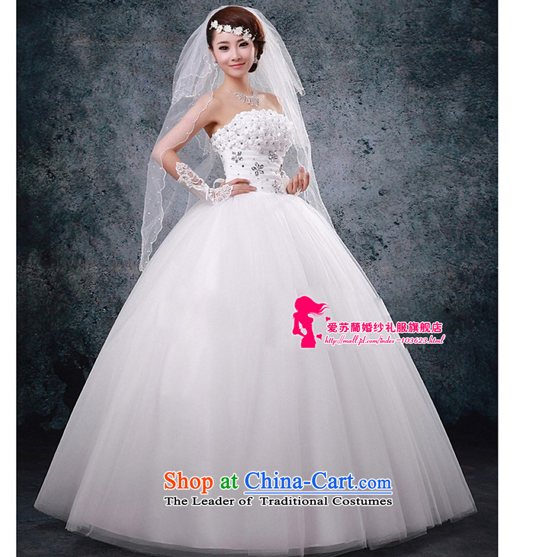 The stage performances_brides marriage wedding photography of 019 wedding new Korean flower decorated Wedding wedding white made size do not return Not Switch