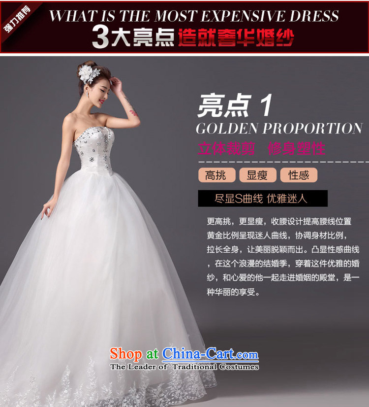 The autumn and winter 2015 new products new stylish wedding anointed chest tail bride wedding dresses Sau San video thin white tie, white S picture, prices, brand platters! The elections are supplied in the national character of distribution, so action, buy now enjoy more preferential! As soon as possible.