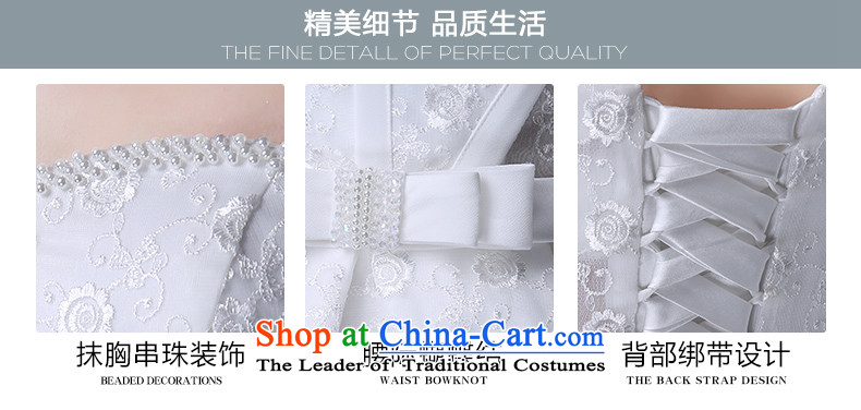 Noritsune bride聽2015 Short wedding dresses Korean white spring and summer lace anointed chest Sau San lace A Wedding dress (Korean Hanbok, exquisite craftsmanship white聽S pictures as soon as possible, prices, brand platters! The elections are supplied in the national character of distribution, so action, buy now enjoy more preferential! As soon as possible.
