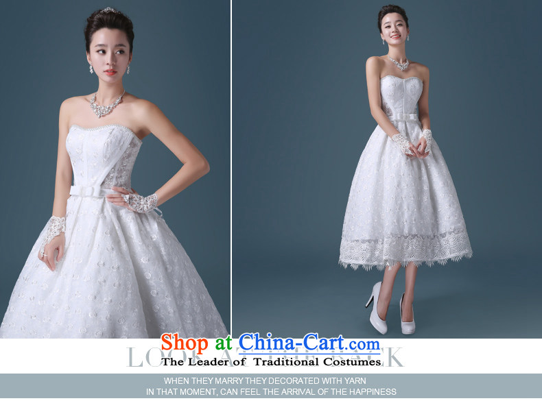 Noritsune bride 2015 Short wedding dresses Korean white spring and summer lace anointed chest Sau San lace A Wedding dress (Korean Hanbok, exquisite craftsmanship white S pictures as soon as possible, prices, brand platters! The elections are supplied in the national character of distribution, so action, buy now enjoy more preferential! As soon as possible.