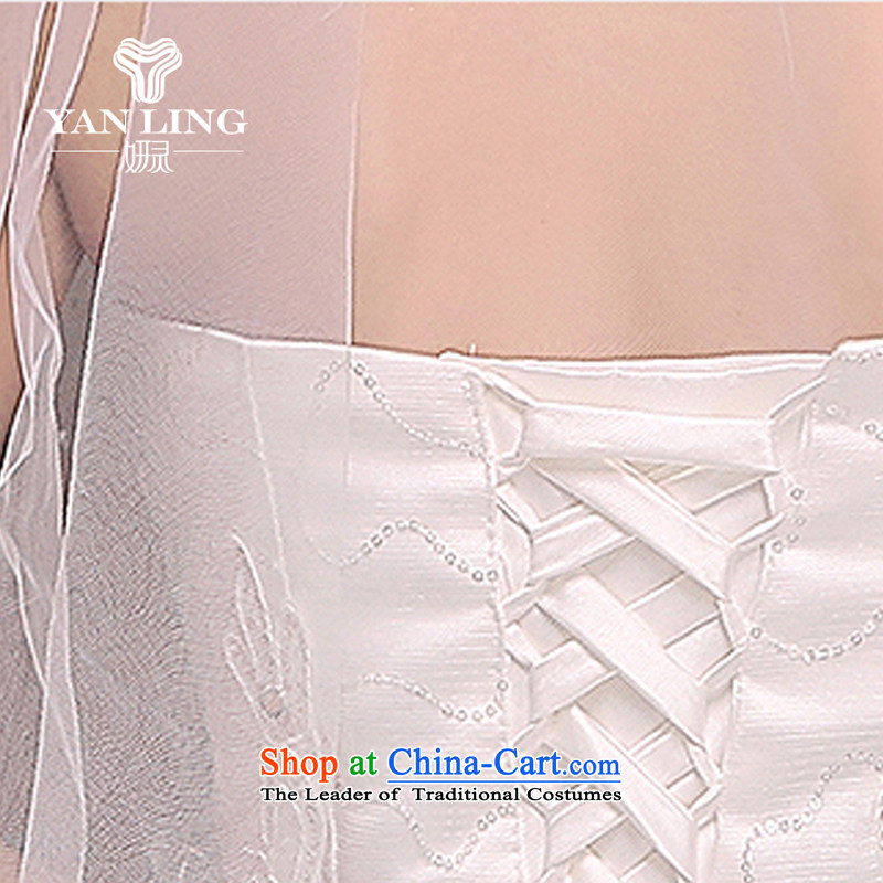 Wedding dresses new spring 2015 on-chip lace straps to align graphics Sau San thin bon bon skirts and chest XL, Charlene Choi spirit has been pressed to marry shopping on the Internet