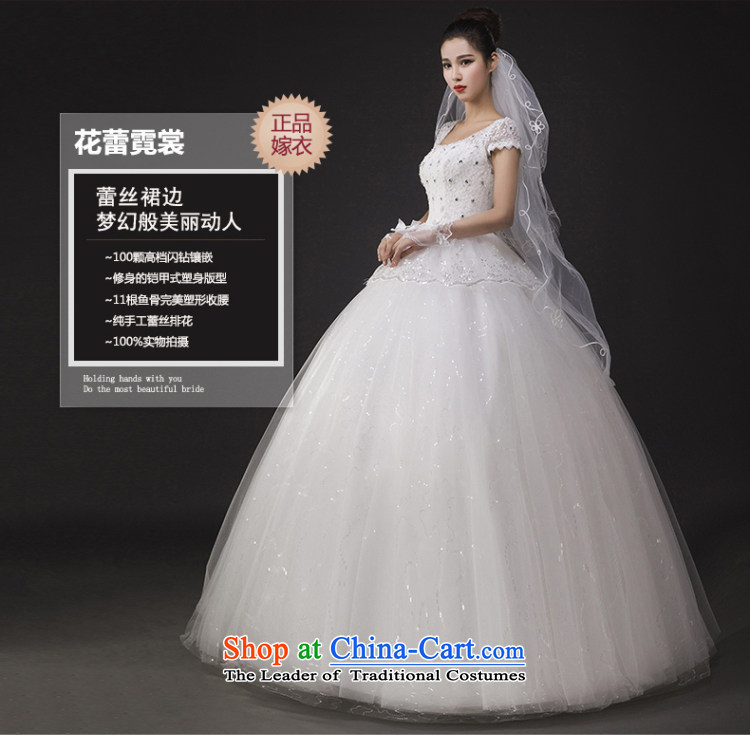 The spring of 2015, the Korean word shoulder bags shoulder lace Sau San video thin large marriage to align bon bon Kwan Ling wedding dress XXL picture, prices, brand platters! The elections are supplied in the national character of distribution, so action, buy now enjoy more preferential! As soon as possible.