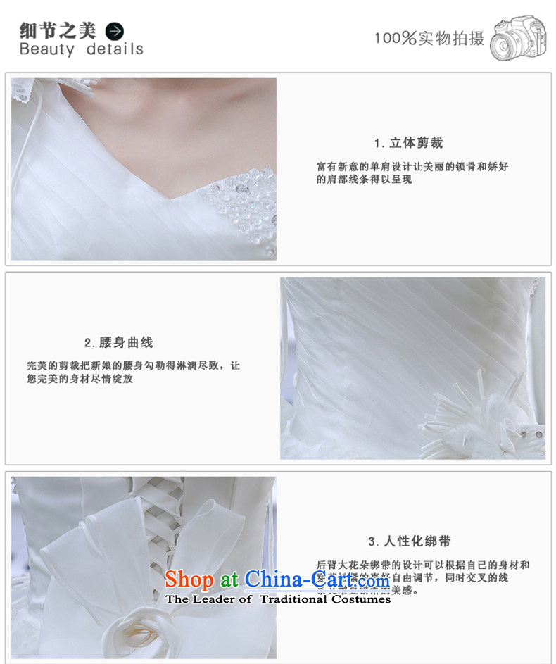 Wedding dress 2015 new Korean bridal lace to align the large spring marriage evening dress small trailing white XL Photo, prices, brand platters! The elections are supplied in the national character of distribution, so action, buy now enjoy more preferential! As soon as possible.