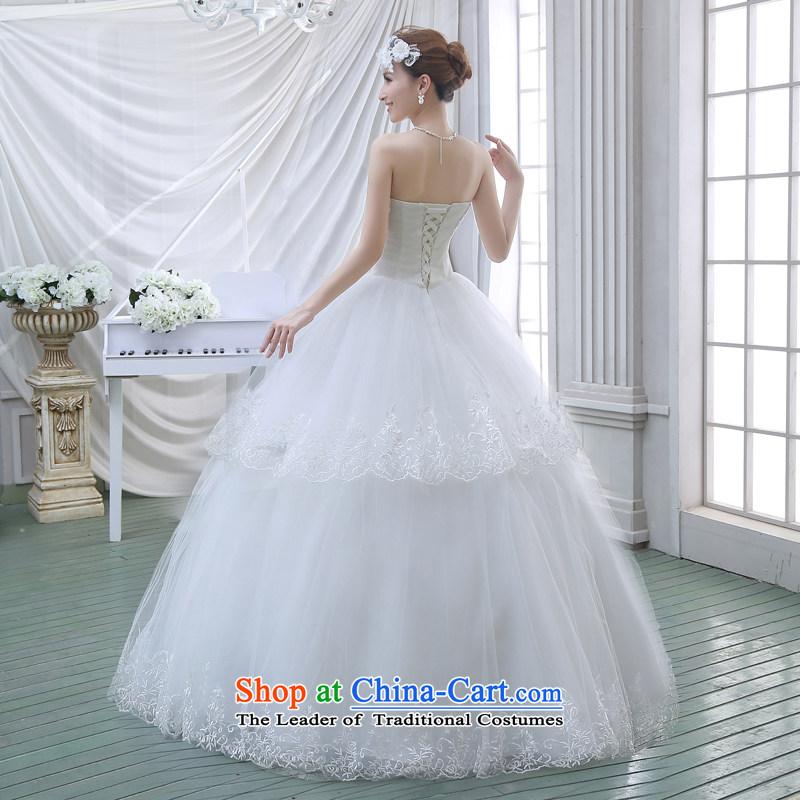 2015 Spring New wedding dresses flowers lace retro straps Korean ...