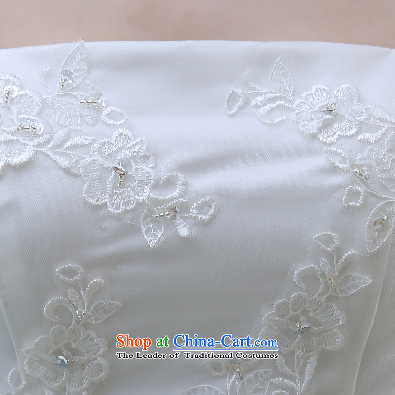 Wipe the chest small trailing wedding dresses new bride 2015 minimalist Korean skirt A crowsfoot lace white L to align the Sau San Picture, prices, brand platters! The elections are supplied in the national character of distribution, so action, buy now enjoy more preferential! As soon as possible.