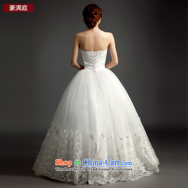 Ho full Chamber wedding dresses new 2015 drill stylish lace straps and align the bride to tailor your chest wedding white , L Ho full Chamber , , , shopping on the Internet