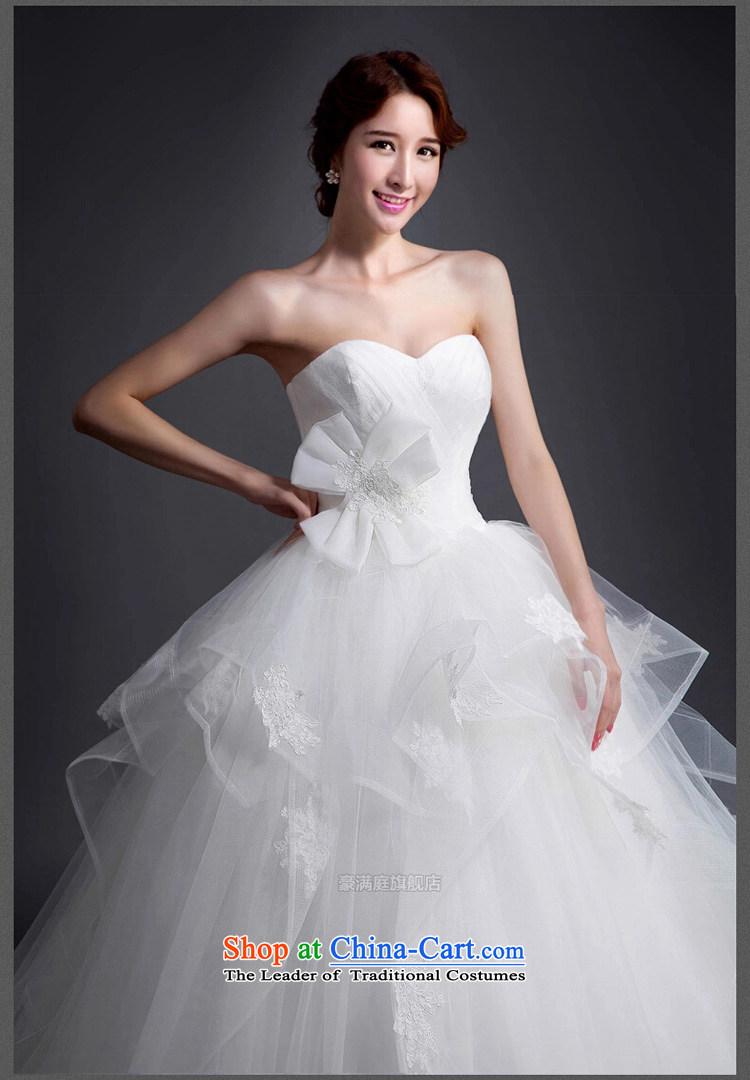 Wedding dress 2015 Spring/Summer new bon bon princess skirt Korean brides custom wedding dress minimalist wiping the chest wedding White聽XL Photo, prices, brand platters! The elections are supplied in the national character of distribution, so action, buy now enjoy more preferential! As soon as possible.