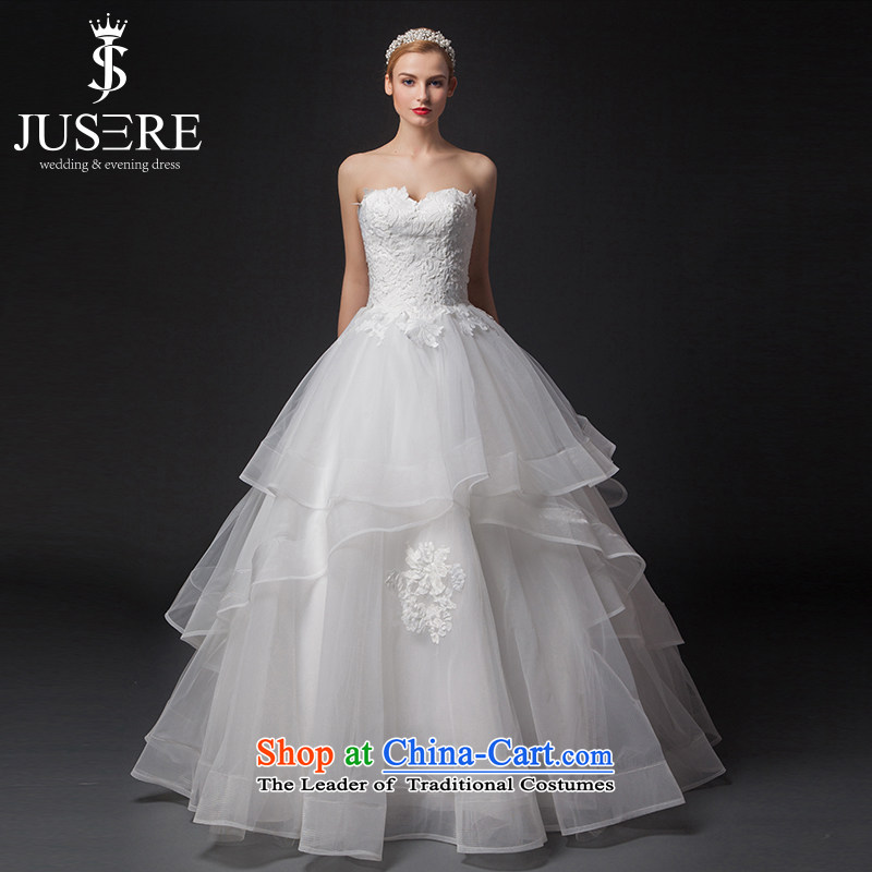 There is set 3.00 The wedding dresses to align the billowy flounces skirt and white�6 code   chest
