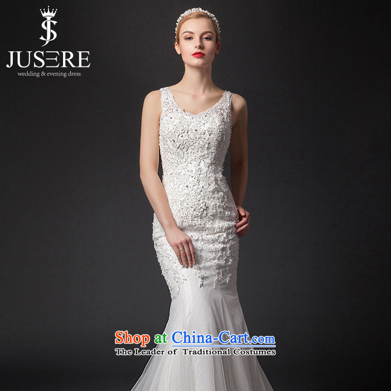 There is set of officials of the�new 2015 wedding dress shoulders back crowsfoot white,�6 Code