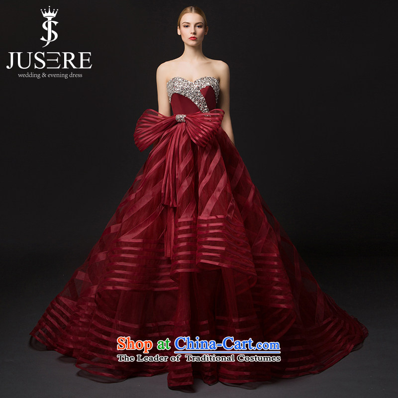 The Butterfly Dream is 2015 new wedding dresses colorful fabric services will preside over a bow tie with chest tail deep red 2 code